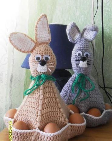 zaizi-vyzannie Пасхальные кролики своими руками: мастер-класс