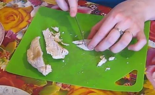 Окрошка на кефире с газированной водой - рецепт пошаговый с фото