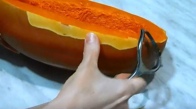 Тыква запеченная в духовке – быстро и вкусно