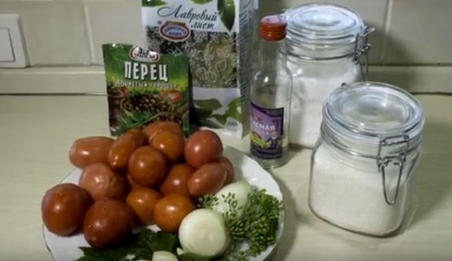 Помидоры маринованные c чесноком: 6 рецептов быстрого приготовления
