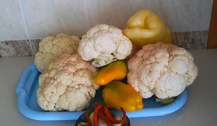 Цветная капуста на зиму - рецепты заготовок пальчики оближешь