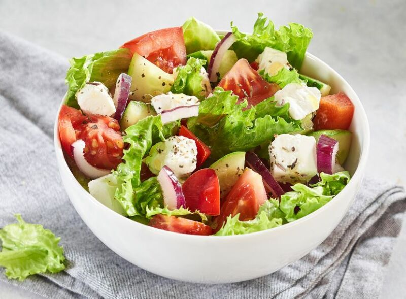 Свадебное меню готовим греческий салат