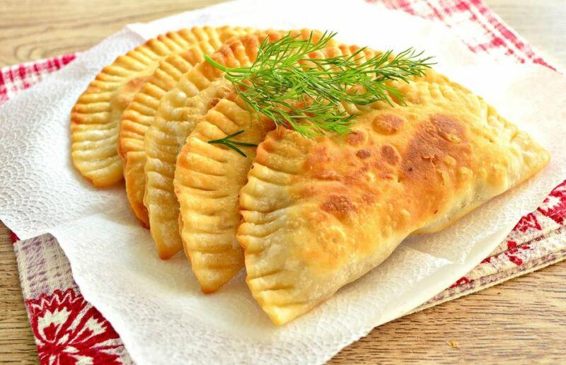 Чебуреки с мясом + самые удачные рецепты хрусткого теста на чебуреки