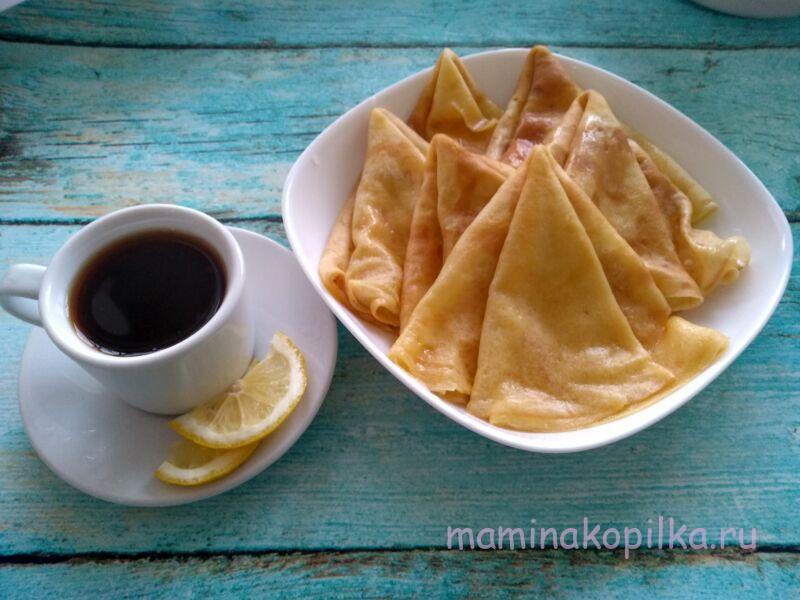 Тонкие блины на молоке — вкусный бабушкин рецепт