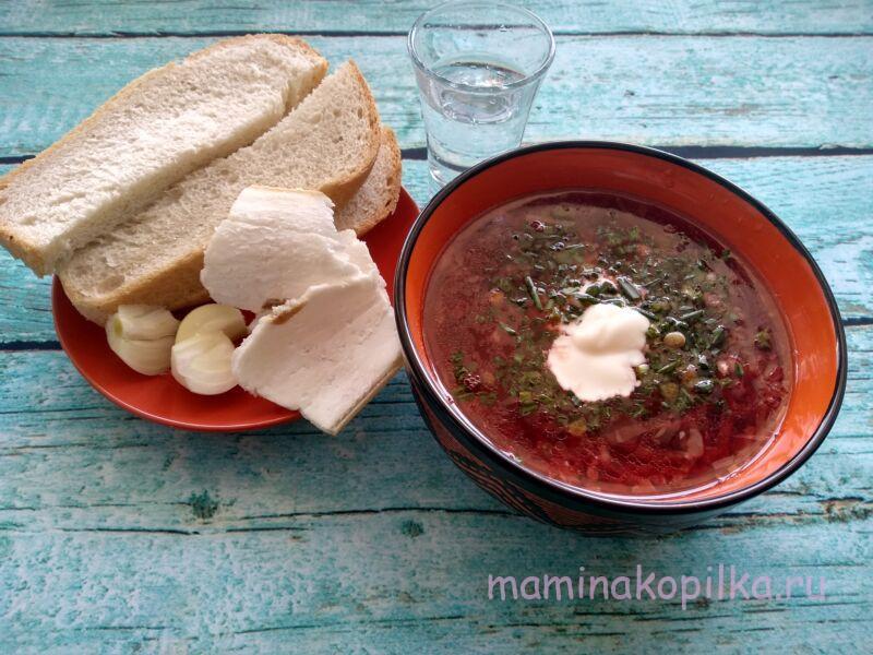 Суп борщ — очень вкусный рецепт приготовления в домашних условиях
